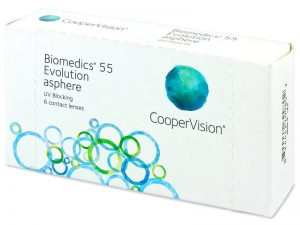 Biomedics lenses package