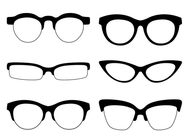 Several frames different shapes